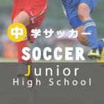令和元年度 中学校サッカー大会の日程が決定! 2019
